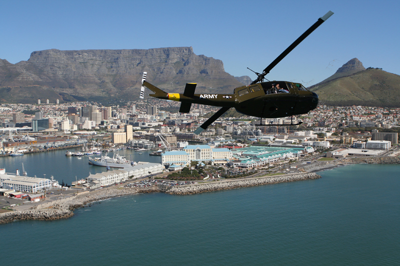 Sport Cape Town Huey Helicopter