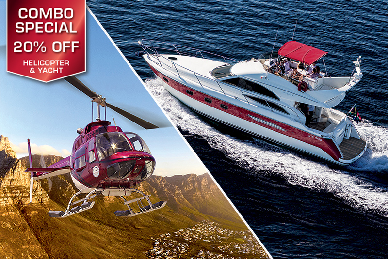 Sport Cape Town Helicopters | Tours | Combo Special