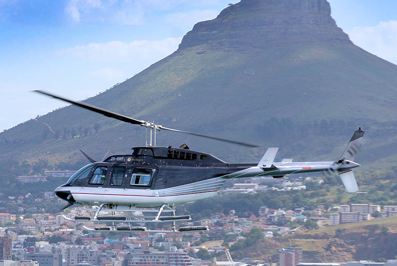 Sport Cape Town Huey Helicopter | Tours | Robben Island / Two Bay Combo