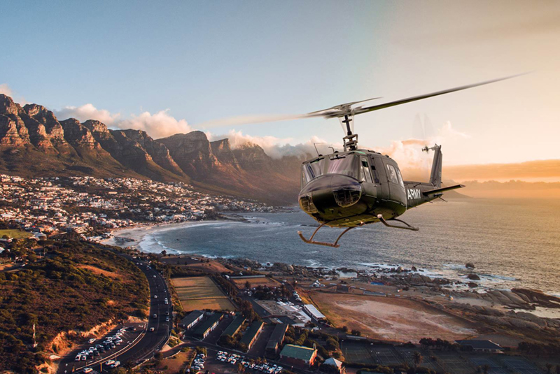 Sport Cape Town Huey Helicopter | Tours | Huey Hopper