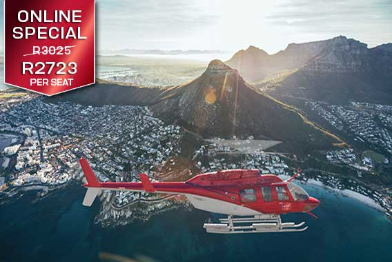 Helicopter | Flights | Robben Island / Two Bay Combo