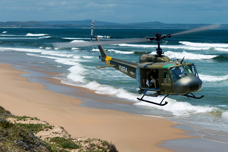 Sport Cape Town Huey Helicopter | Tours | Combat Lite