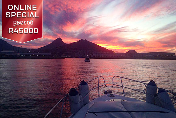 Princess Skye Sport Motor Yachts Cape Town Boat Cruise All Day