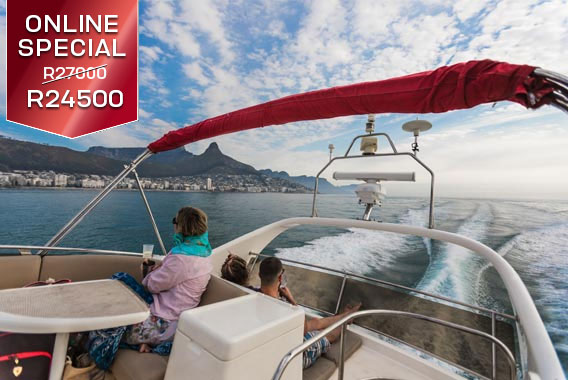 Princess Skye Sport Motor Yachts Cape Town Boat Cruise Grand Clifton Experience