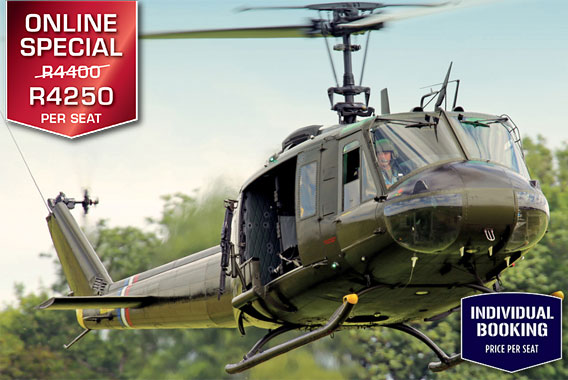 Sport Cape Town Huey Helicopter | Tours | Combat