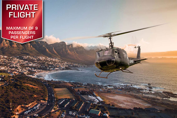 Huey Helicopter | Adventure Flights
