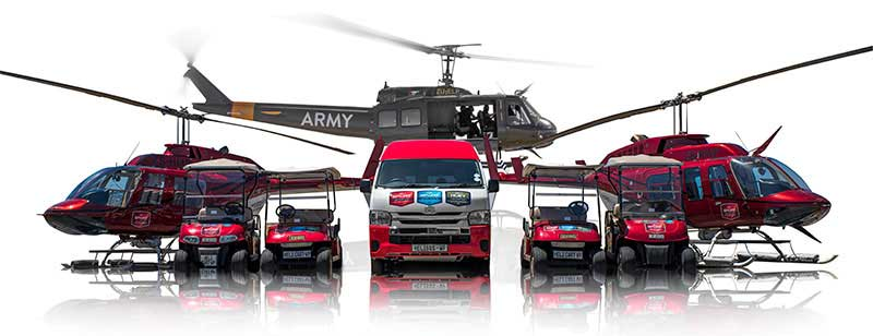 Fly The Huey Helicopter Flights and Tours Cape Town