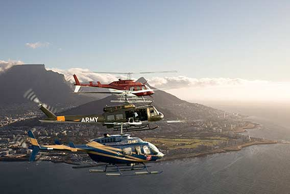 Camps bay helicopter flights
